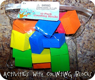 Activities with Counting Blocks