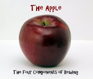 The Apple – The Four Components of Reading