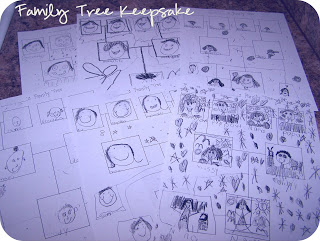 family tree craft for kids art project