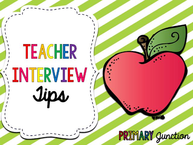 teacher interview job tips