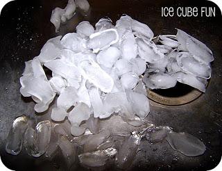 ice cube fun solids liquids