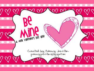 Be Mine A Mini Valentines Day Unit_001