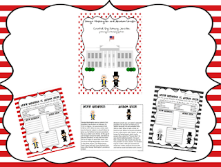 george washington abe lincoln abraham reading passage compare contrast text social studies february
