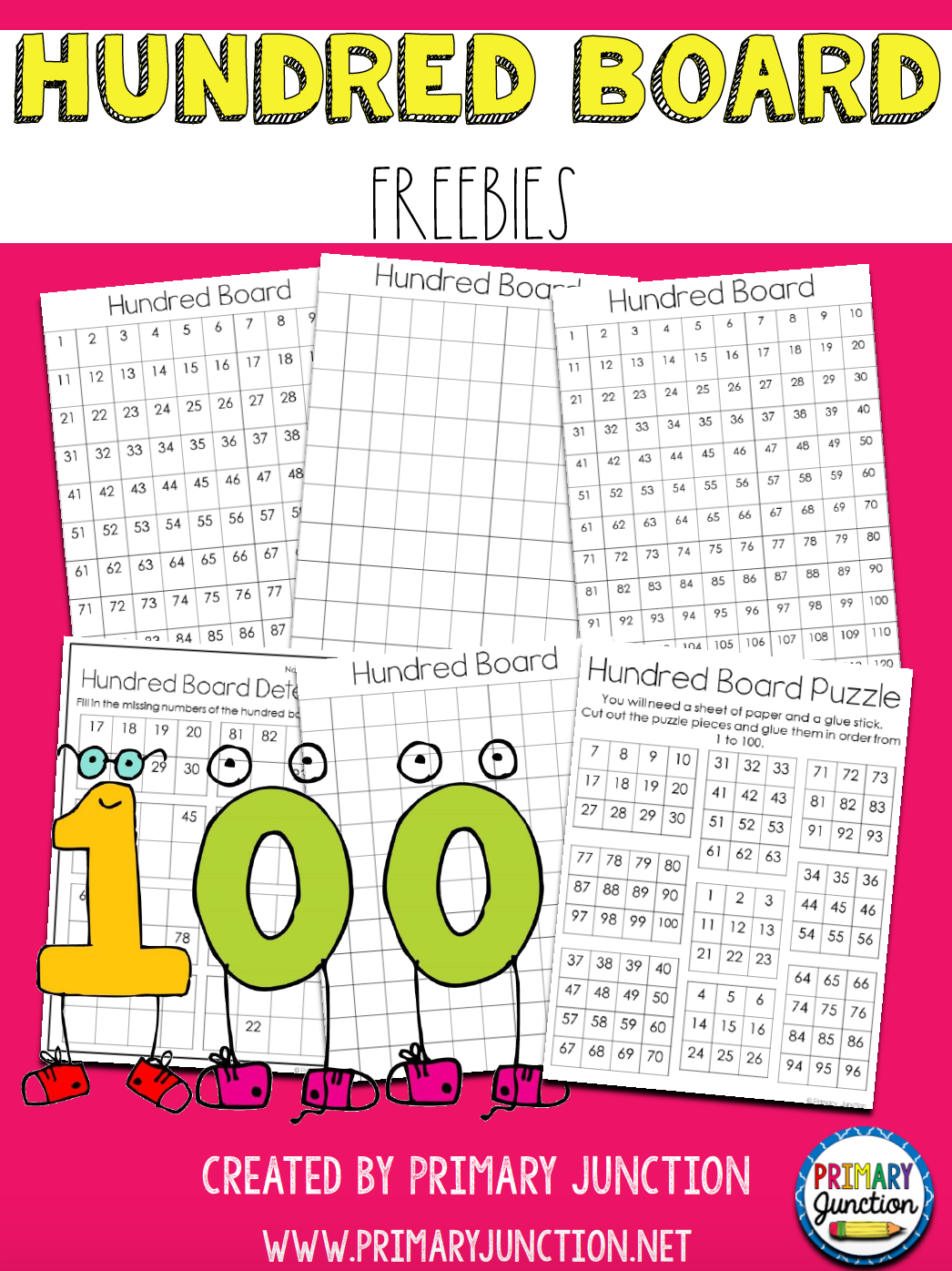 hundred board freebie