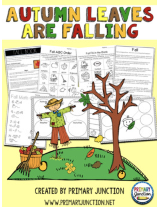 Autumn Leaves Are Falling! – Free Resources!