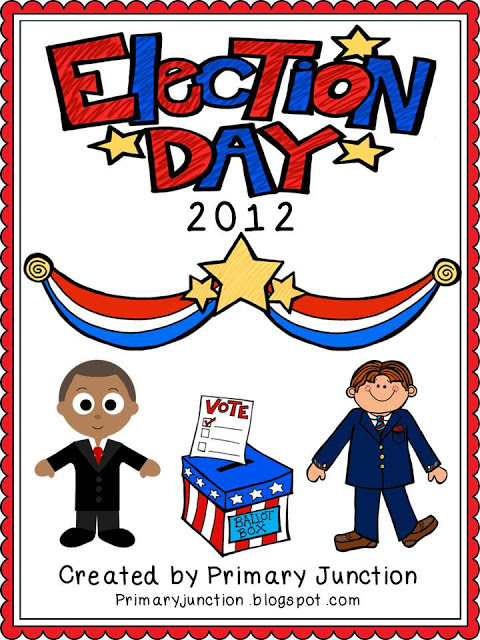 election day abc order activity literacy center station november president social studies history First Grade 1st Second Grade 2nd