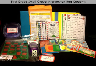 First Grade Reading Interventions & More