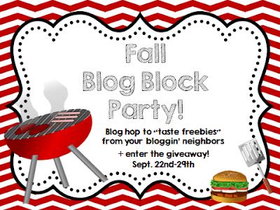 Fall Blog Block Party