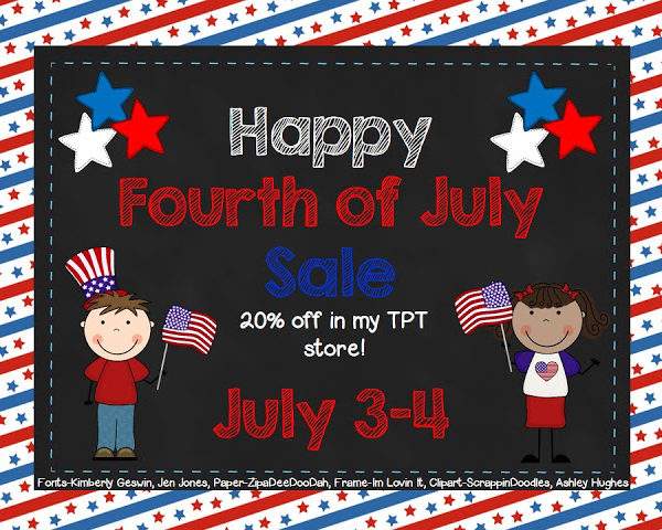 Fourth of July Sale!