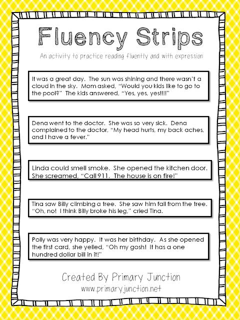 Fluency Strips