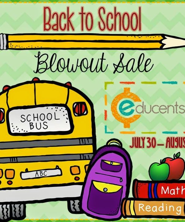 Educents Back-To-School Sale!