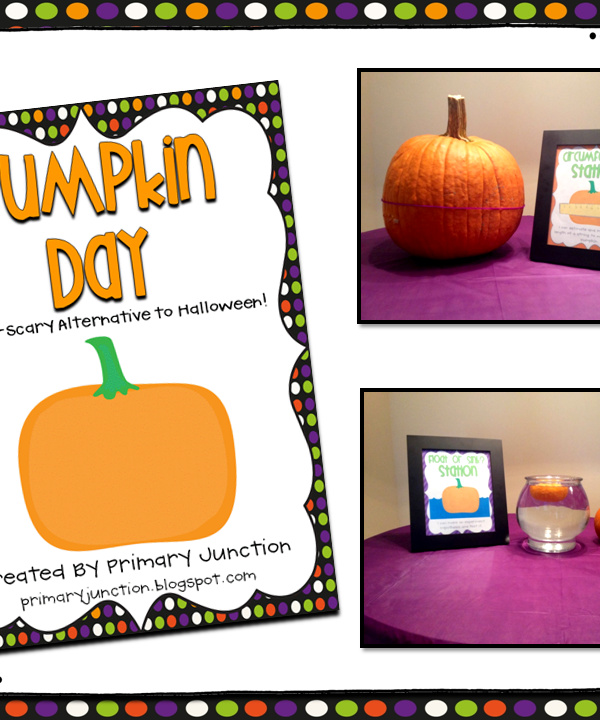 Pumpkin Day Activities for the Classroom