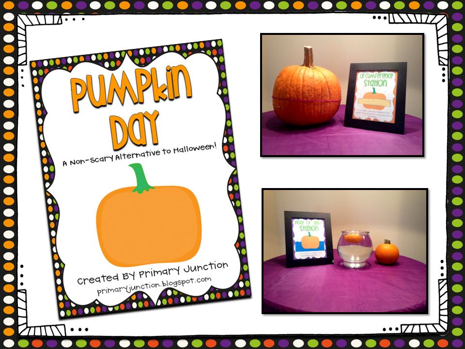 halloween fall autumn pumpkin day literacy center math center party 1st grade second grade first 2nd