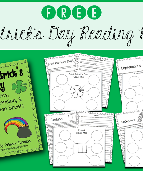 Free St. Patrick's Day Reading Packet