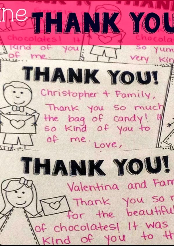 Valentine Thank You Cards