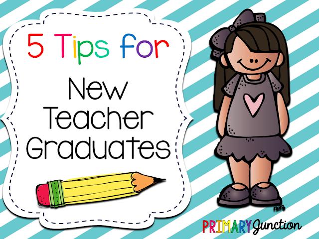 tips for new teacher graduates