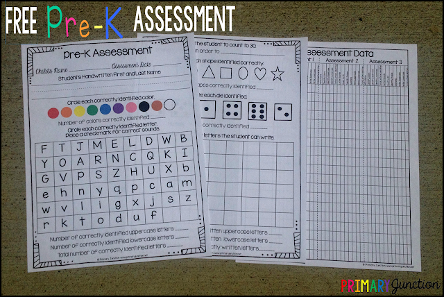 free pre-k pre-kindergarten assessment what does my child need to know before kindergarten