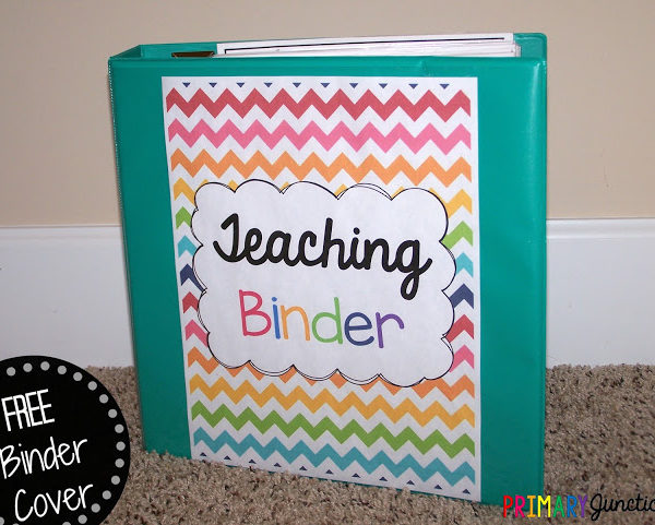 Free Teacher Binder Cover