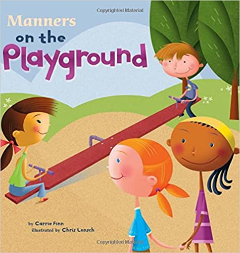 Manners on the Playground Book rules back to school beginning of year