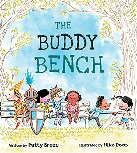The Buddy Bench playground recess rules back to school beginning of the year book friendship kindness